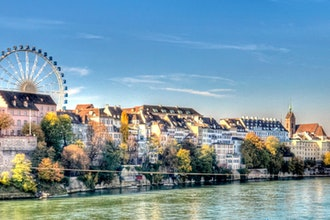 panorama, Basilea - Svizzera