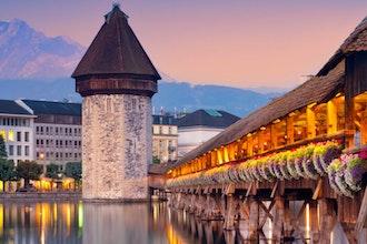 Kapellbrucke, Lucerna - Svizzera