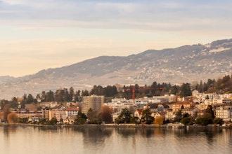 panorama, Montreux - Svizzera