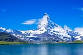lago e Cervino, Zermatt - Svizzera